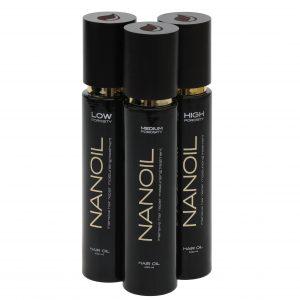 NANOIL HAIR OIL IN THREE VERSIONS